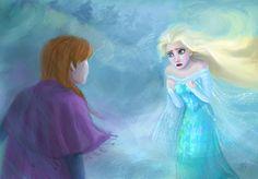 I can't stop a winter - Frozen by DreamyArtistRoxy3.deviantart.com on @deviantART