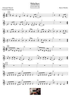 Stitches - Shawn Mendes Educação Musical