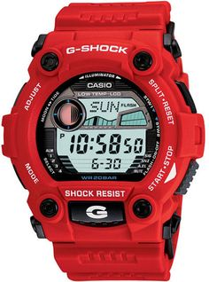 Casio G7900A-4 Mens Watch Red Plastic Resin G-Shock
