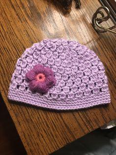 Crochet Cluster Stitch  crochet  Hat  gorros  gorrodelana 22c53103efc