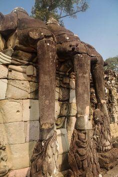 Terrace of the Elephants @ Angkor Thom - Siem Reap, Cambodia