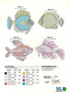 Plastic Canvas Ornaments, Plastic Canvas Crafts, Plastic Canvas Patterns, Box Patterns, Fish Patterns, Diy Canvas, Canvas Ideas, Small Cross Stitch, Canvas Designs