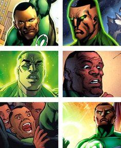 John Stewart/Green Lantern Photoset