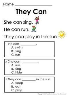 math worksheet : guided reading level c very first reading comprehension passages  : Reading Comprehension Worksheets For Kindergarten