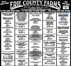 farms weekly ad june 15 21 erie county farms weekly ad june see more 1 ...