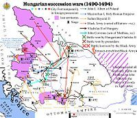 Hungarian post-Matthias succession wars - Vladislaus II of Hungary - Wikipedia, the free encyclopedia Matthias Corvinus, Order Of The Dragon, Maximilian I, The Siege, Austro Hungarian, Roman Emperor, Old Maps, Historical Maps, Troops