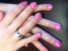 CND shellac nail art by me.
