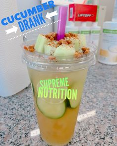 Today Monday we have one of our specialty teas for just $5 😱😱 Our famous Cucumber Drank 🥒 is just $5 TODAY ONLY 🤯🤯🤯🤯 #herbalife #herbaliferesults #herbalifenutrition #herbalifeshake #herbalifecoach #herbalifetea #herbalifenutrition🍃 #delicious #amazing #cucumber Herbalife Healthy Meal, Herbalife Shake Recipes, Herbalife Nutrition, Tea Recipes, Smoothie Recipes, Herbal Life Shakes, Herbalife Results, Cucumber Drink, Nutrition Club