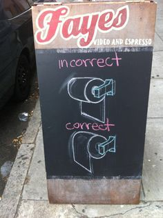 See? This person gets it.   31 Bar & Coffee Shop Sidewalk Signs That Are Actually Funny