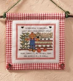 Scarecrow Cross Stitch Craft | Fall Crafts | Sewing Projects — Country Woman Magazine