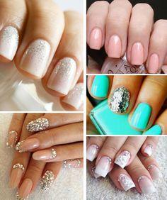 Nails for the Nuptials on itsabrideslife.com/Wedding Nails/Nail Designs