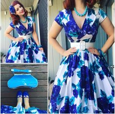 My Week In Outfits! - Miss Victory Violet 50s Outfits, Rockabilly Outfits, Pin Up Outfits, Rockabilly Fashion, Trendy Outfits, Cute Outfits, 1950s Fashion Women, Retro Fashion, Vintage Fashion