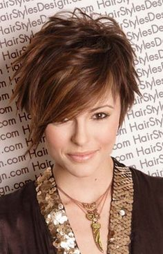 Plus Size Short Hairstyles for Women Over 40 | Simple Your Hairstyle Pixie Wedding Inspiration Idea 1