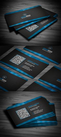 Professional Corporate Business Card by ~FlowPixel on deviantART