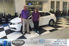 TO ME FENTON HONDA IS THE NICEST PLACE TO BUY A CAR. THANK YOU SO MUCH.  DAWN LEACH Tuesday, May 05, 2015