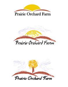 Prairie Orchard Farm - logo mock-ups