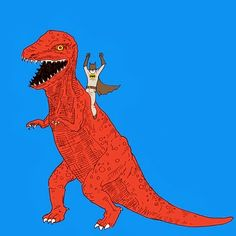 via By the way... Dinosaurs are ruining my life!
