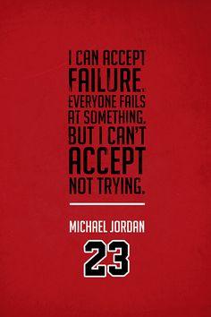 ''Michael Jordan Quote on Print. See more at www.finesportsprints.com #jordan #sportsquote #bulls''