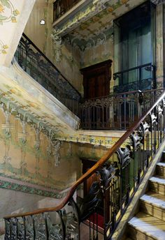 Art Nouveau Architecture, Art And Architecture, Italy Art, Visit Italy, Milan Italy, Abandoned Places, Old World, 3, Postcards