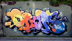 by: Opium (Wild Boys crew) Graffiti Pens, Graffiti Artwork, Graffiti Drawing, Graffiti Painting, Wildstyle, Samurai Art, Color Schemes, Street Art, Wall Art