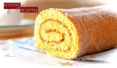 If you love swiss roll snack cakes – then you're going to love any version of a cake roll. A vanilla sponge cake is filled with fresh homemade strawberry jam and vanilla flavored cream Cake Roll Recipes, Best Dessert Recipes, Fun Desserts, Jam Roll, Flavored Cream Cheeses, Apricot Cake, Homemade Strawberry Jam, Vanilla Sponge Cake, Rolls Recipe