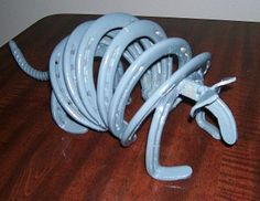 horseshoe crafts | Miller - Welding Projects - Idea Gallery - Horseshoe Armadillo