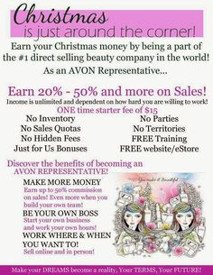 Rena's Avon: Christmas Is Around The Corner