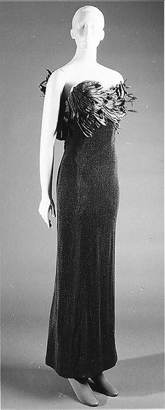 1963 James Galanos Evening dress Metropolitan Museum of Art*