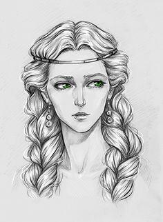 Pavetta by Anastasia Kulakovskaya (Witcher)