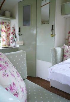 myvintageparty: Vintage Caravan.... Interior!