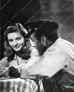 photo Lauren Bacall Humphrey Bogart To Have and Have Not 1785-08