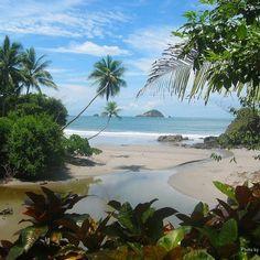 Playa Biesanz, my favorite beach in Costa Rica