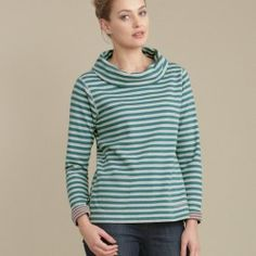 Two striped tops for the price of one. One of Seasalt's popular reversible tops, very comfy and a bit of fun too.  In stock and available for fast dispatch from our shops in Scarborough & Whitby.