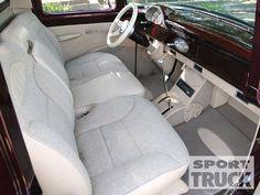 1956 Ford F100 Interior