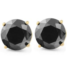 Ringjewels 1//8 Ctw Blue Sapphire Stud Earrings For Mens /& Womens In 14K White Gold Plated 925 Silver