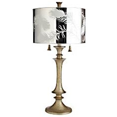 Silver Fern Table Lamp