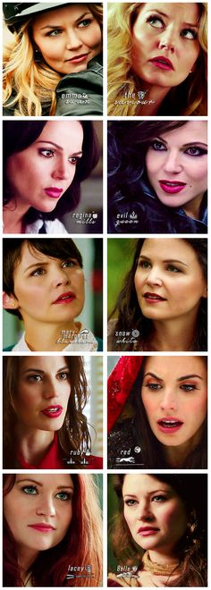 ❦ once upon a time ladies... #ouat