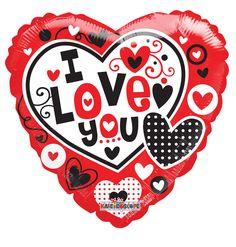 Globos de #Amor varios estilos y medidas, solamente las encuentras acá!!