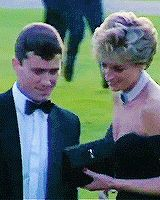 Princess Diana's and her memorable evening of fashion
