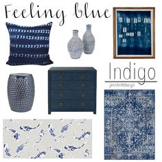 Feeling Blue? - ways to add blue to your home