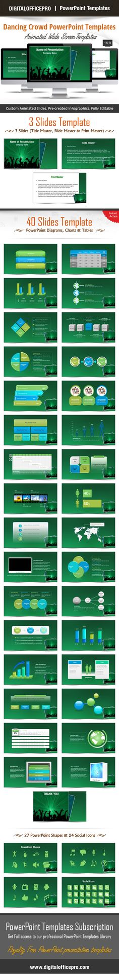 Impress and Engage your audience with Architectural Supervision - new jungle powerpoint template
