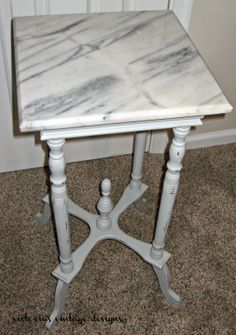 Victoria's Vintage Designs: Small Accent Table