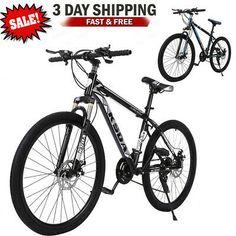 """26"""" Bicycle Mountain Bike Full Suspension Shimano 21 Speed Mens Bikes MTB   eBay"""