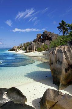 Anse Source d'Argent, Islas Seychelles Las mejores playas del mundo son éstas- HarpersBAZAARES