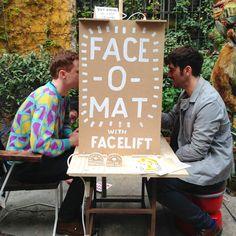 Face-o-mat | ARTNAU Tobias, Portrait, Cover, Illustration, Books, Hilarious, Art, Characters, Libros