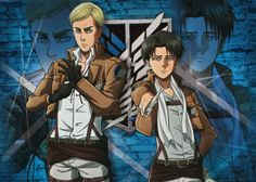 Attack on Titan ~~ Erwin and Levi