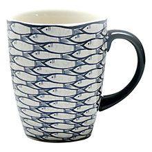 Buy Jersey Pottery Sardine Run Mug Online at johnlewis.com