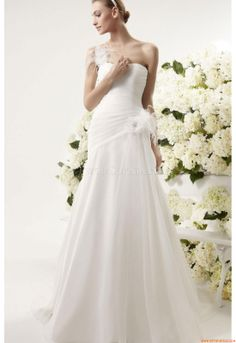 Wedding Dresses Aire Barcelona 102 Yacal Vintage 2014
