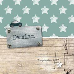Stipt geboortekaartje Damian - Geboortekaartjes - Kaartje2go