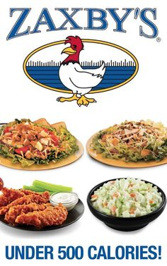 Check out this low-cal Zaxby's menu.